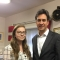 Tomorrow's Natural Leader Jess with Ed Miliband MP