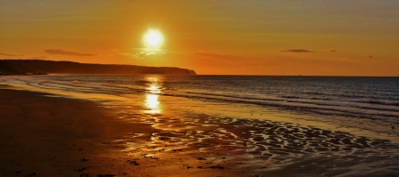 Whitby Sunrise - Charlotte Ellis.