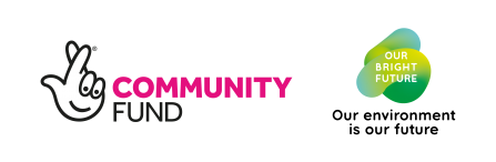 Community Fund / Our Bright Future logo