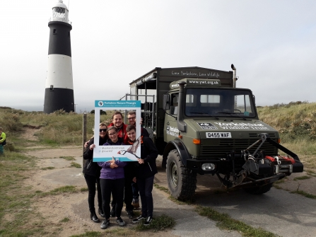 Yorkshire Nature Triangle with Spurn Unimog