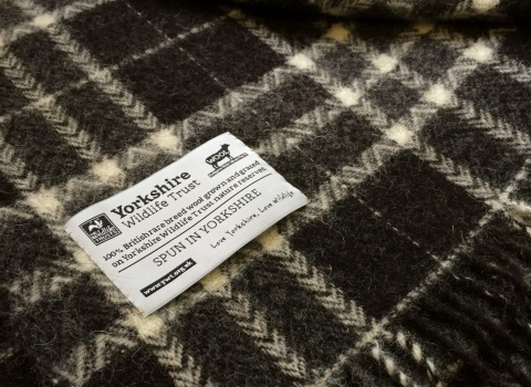 Hebridean wool blanket